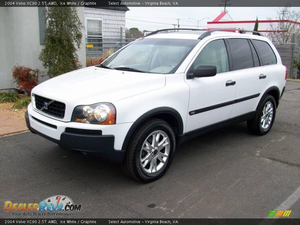 2004 volvo xc90 2 5t awd ice white graphite photo 3. Black Bedroom Furniture Sets. Home Design Ideas