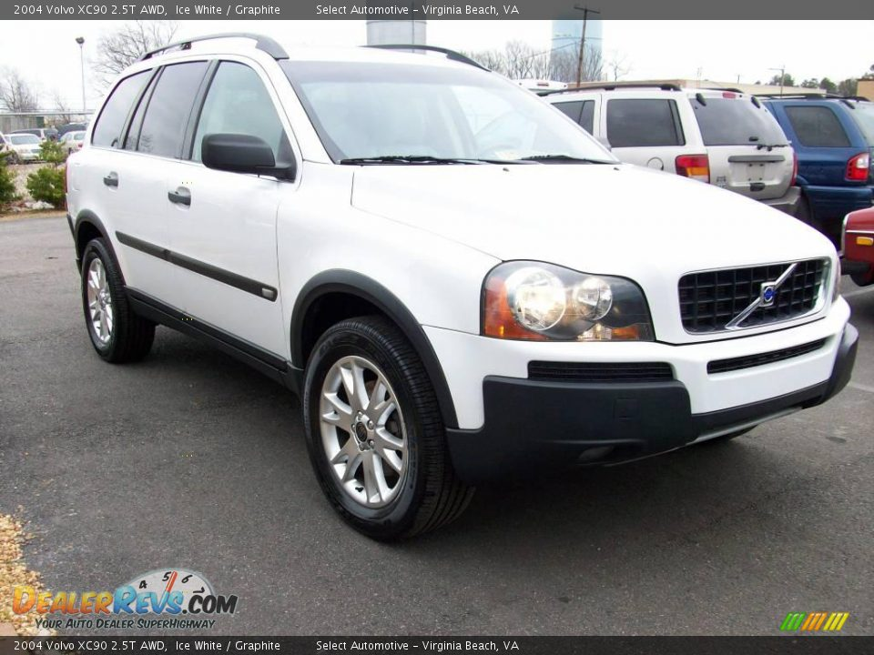 2004 Volvo Xc90 2 5t Awd Ice White Graphite Photo 6