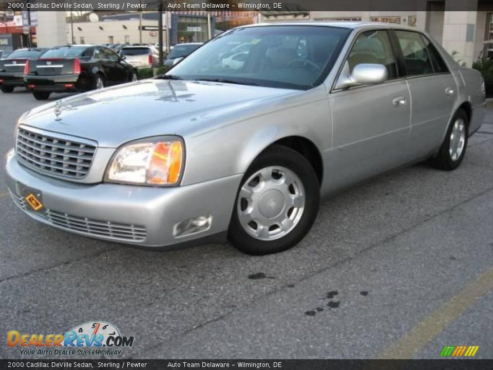 2000 cadillac deville sedan sterling pewter photo 2. Cars Review. Best American Auto & Cars Review