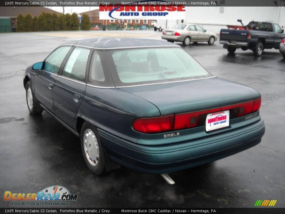 1995 mercury sable gs sedan portofino blue metallic grey. Black Bedroom Furniture Sets. Home Design Ideas