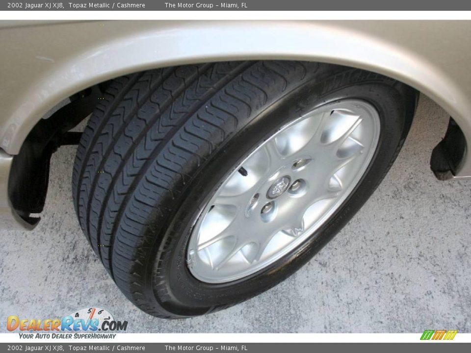 2002 Jaguar XJ XJ8 Topaz Metallic / Cashmere Photo #29