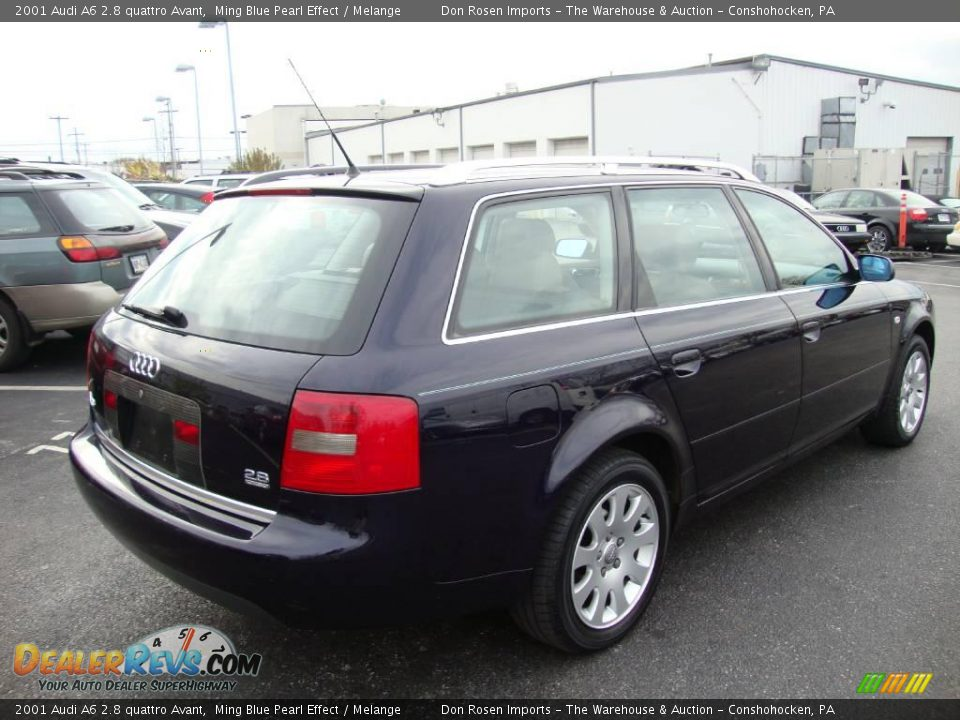 2001 audi a6 2 8 quattro avant ming blue pearl effect. Black Bedroom Furniture Sets. Home Design Ideas