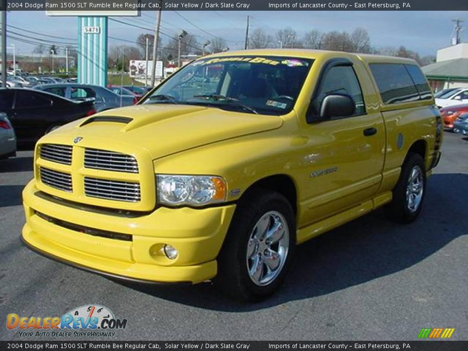 2004 dodge ram 1500 slt rumble bee regular cab solar. Black Bedroom Furniture Sets. Home Design Ideas