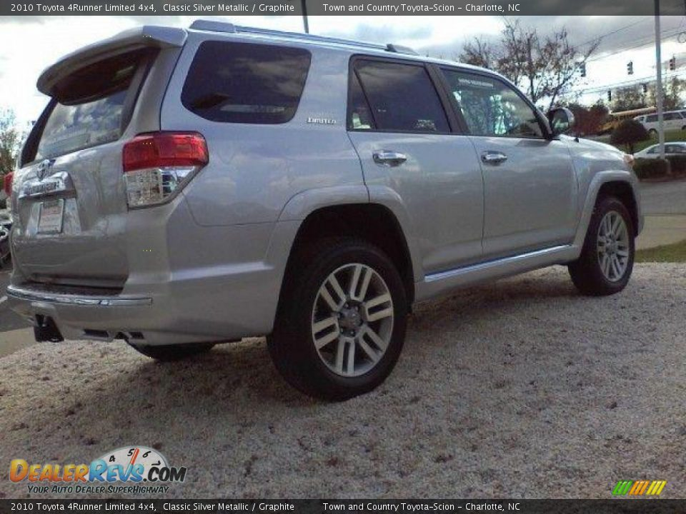 2010 Toyota 4runner Limited 4x4 Classic Silver Metallic