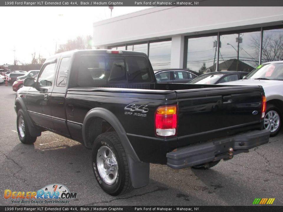 1998 ford ranger xlt extended cab 4x4 black medium graphite photo 4. Black Bedroom Furniture Sets. Home Design Ideas