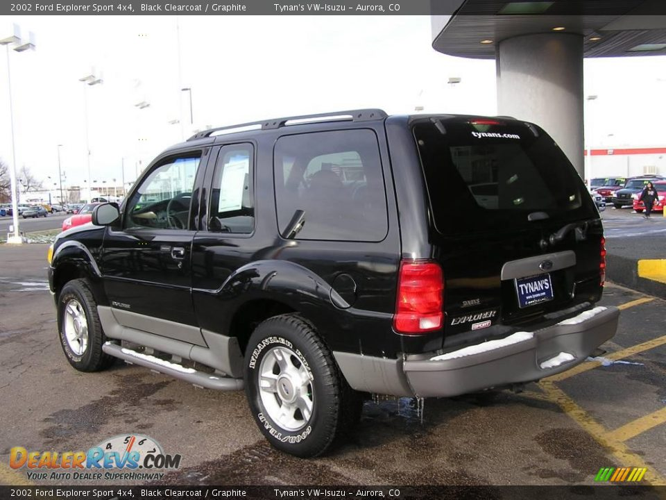 2002 ford explorer sport 4x4 black clearcoat graphite photo 4. Cars Review. Best American Auto & Cars Review