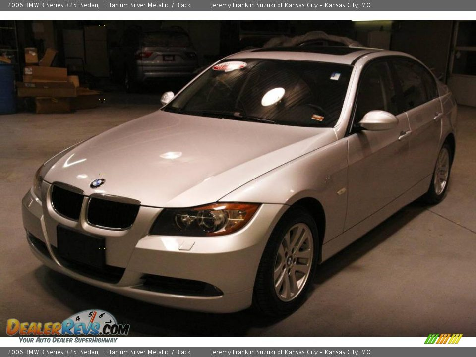 2006 bmw 3 series 325i sedan titanium silver metallic. Black Bedroom Furniture Sets. Home Design Ideas