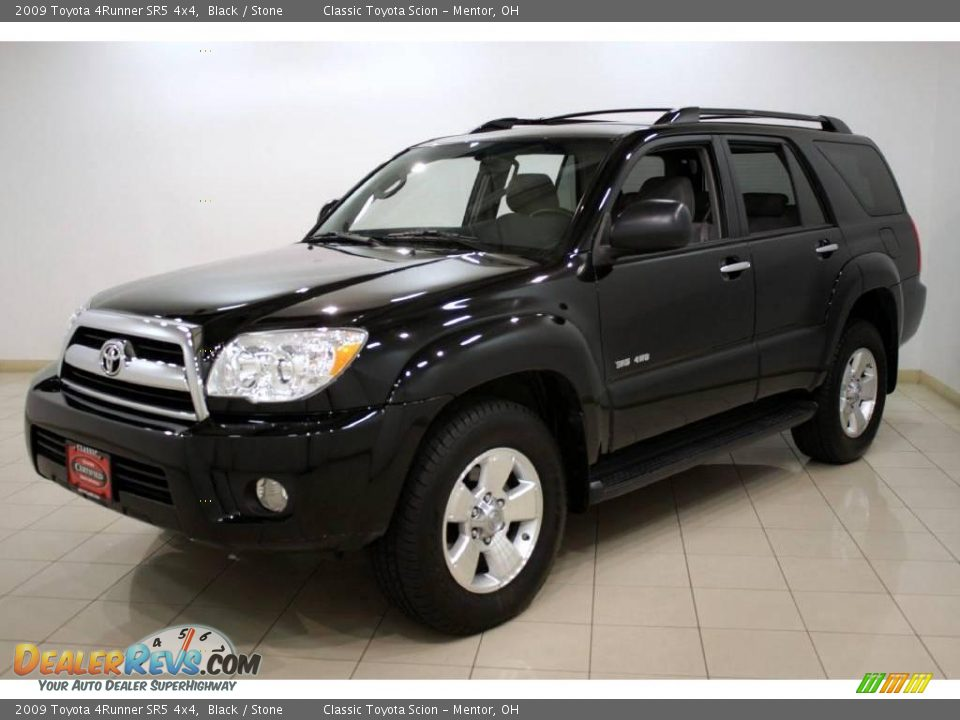 2009 Toyota 4runner Sr5 4x4 Black Stone Photo 3