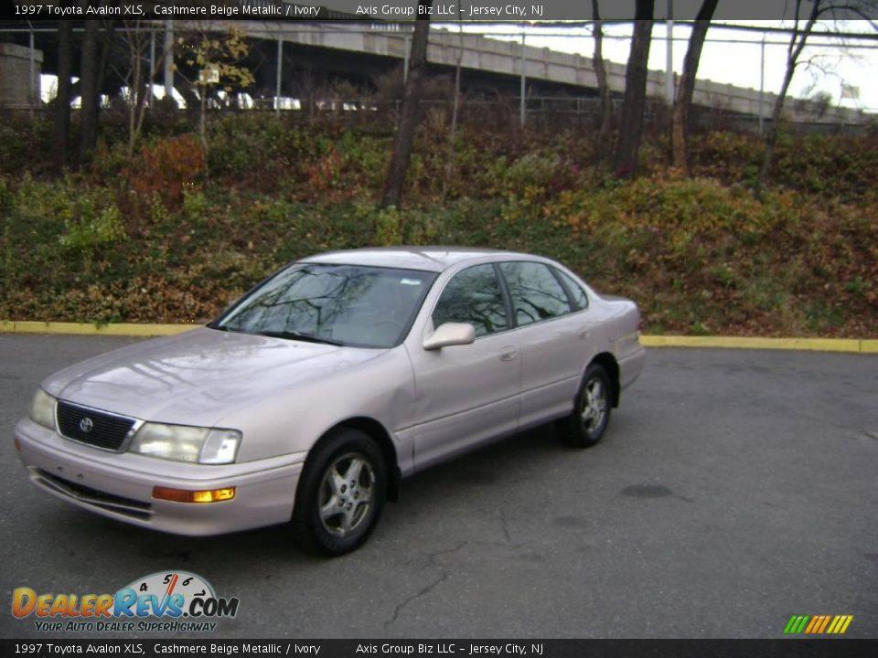 1997 Toyota Avalon Xls Cashmere Beige Metallic Ivory