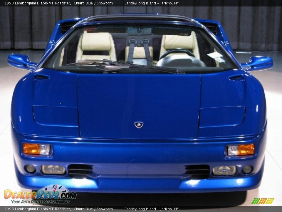 1998 Lamborghini Diablo VT Roadster Chiaro Blue / Snowcorn Photo #4 ...