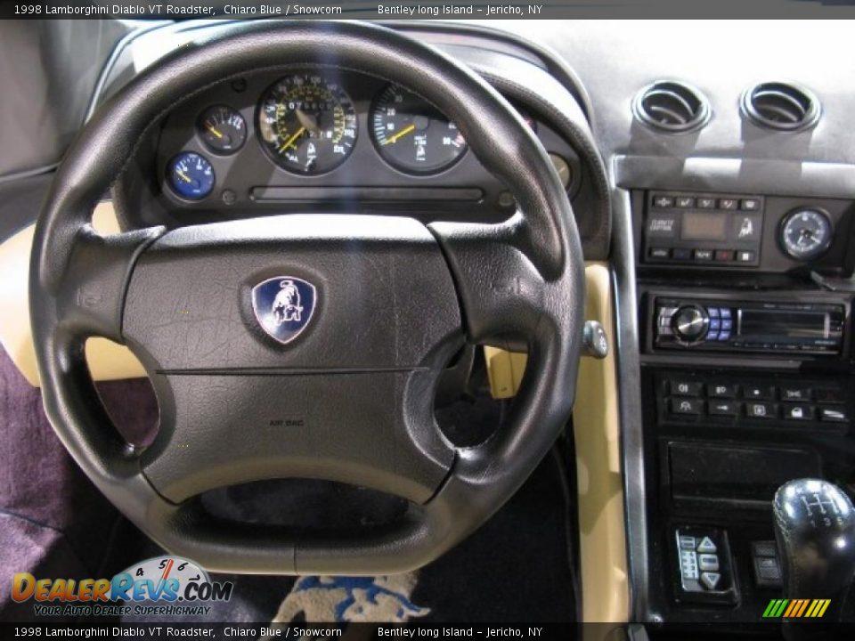 1998 Lamborghini Diablo VT Roadster Chiaro Blue / Snowcorn Photo #8 ...