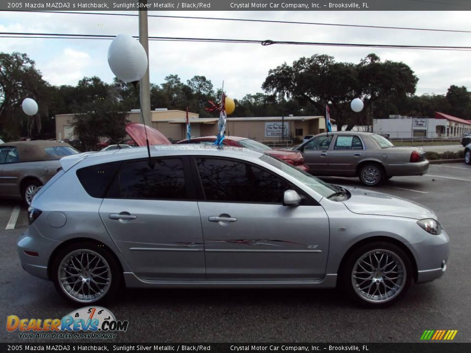 2005 mazda mazda3 s hatchback sunlight silver metallic. Black Bedroom Furniture Sets. Home Design Ideas