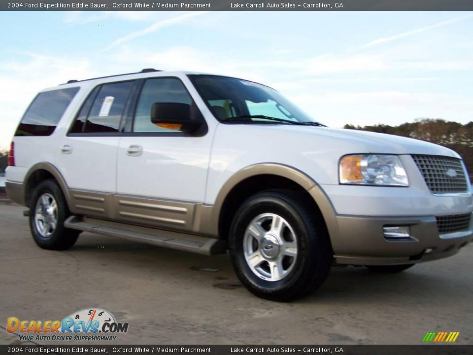 2004 ford expedition eddie bauer oxford white medium. Black Bedroom Furniture Sets. Home Design Ideas