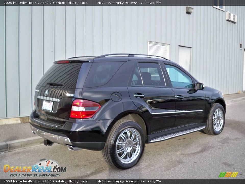 2008 mercedes benz ml 320 cdi 4matic black black photo 4. Black Bedroom Furniture Sets. Home Design Ideas