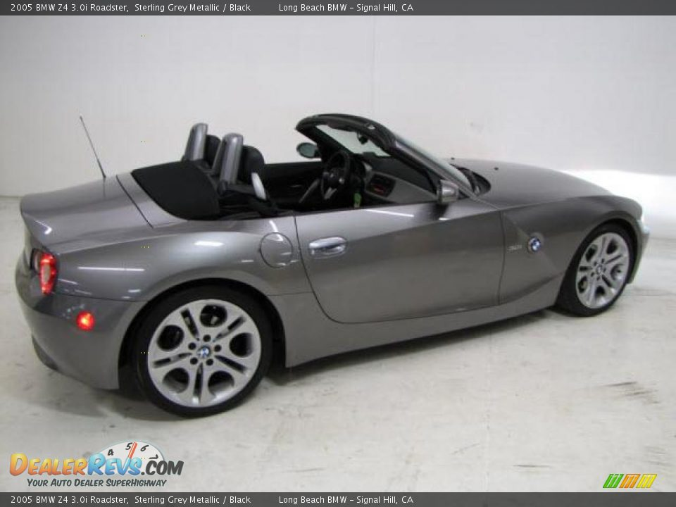 Bmw Z4 3 2005 Bmw Zi Roadster Sterling Grey Metallic Black