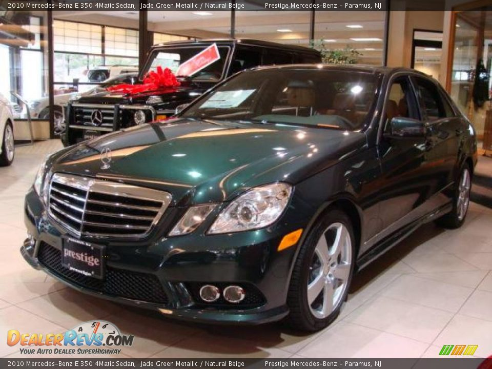 2010 mercedes benz e 350 4matic sedan jade green metallic for 2010 mercedes benz e350 sedan