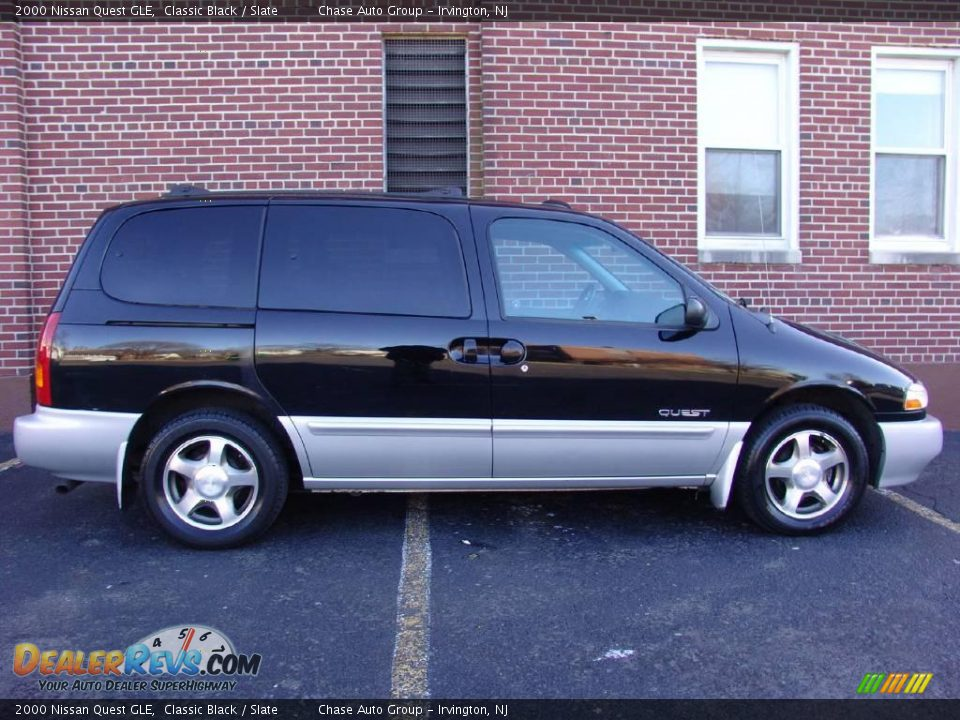 2000 Nissan Quest GLE Classic Black / Slate Photo #3 | DealerRevs.com