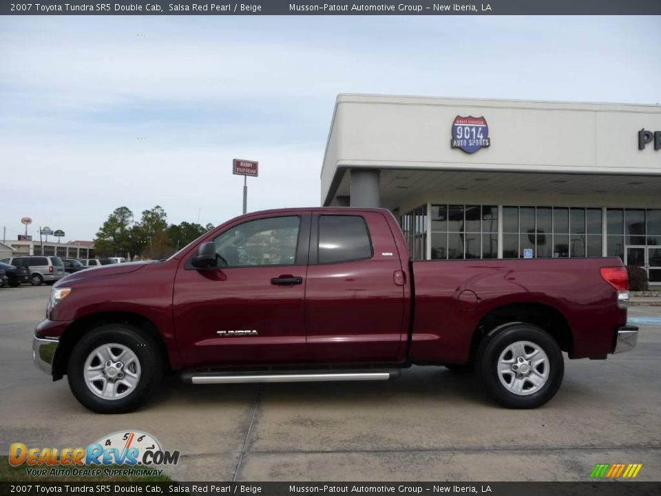 2007 Toyota Tundra Sr5 Double Cab Salsa Red Pearl Beige