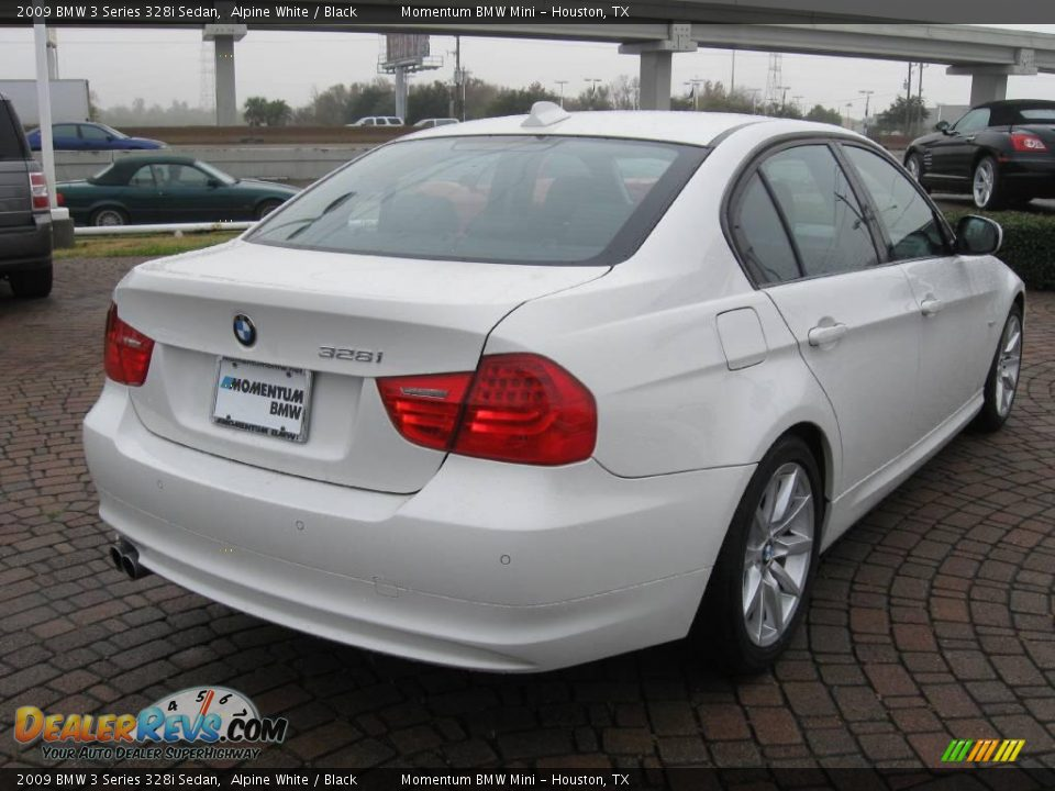 2009 bmw 3 series 328i sedan alpine white black photo 7. Black Bedroom Furniture Sets. Home Design Ideas