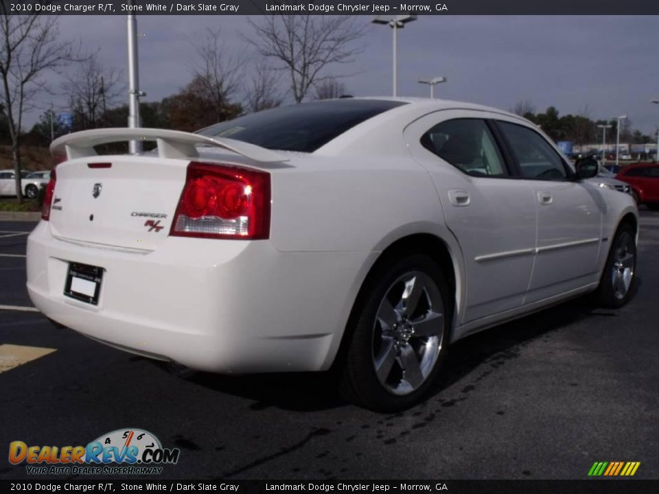 2010 Dodge Charger R/T Stone White / Dark Slate Gray Photo #3 ...