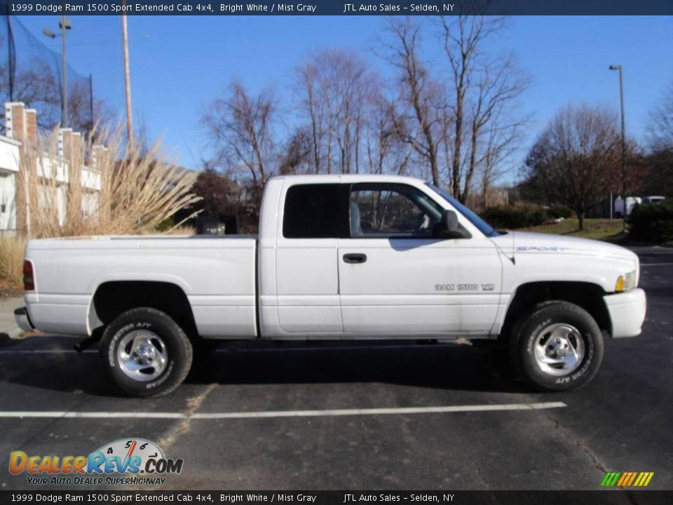 1999 dodge ram 1500 sport extended cab 4x4 bright white mist gray photo 7. Black Bedroom Furniture Sets. Home Design Ideas