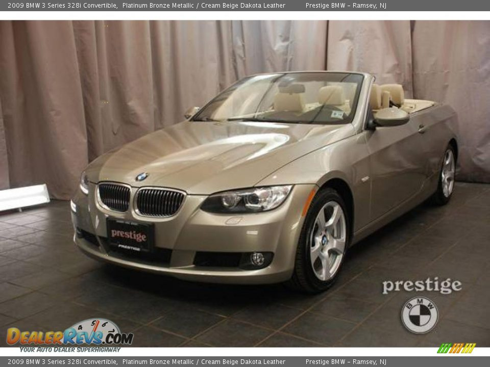 2009 Bmw 3 Series 328i Convertible Platinum Bronze