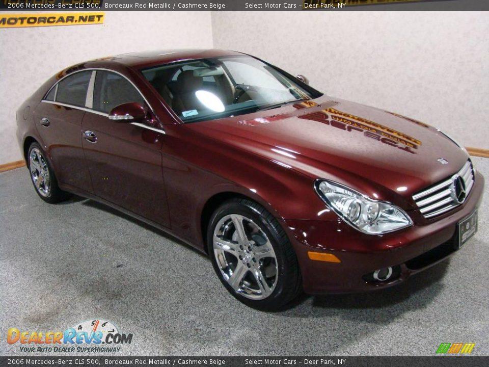 2006 mercedes benz cls 500 bordeaux red metallic for Garage mercedes a bordeaux