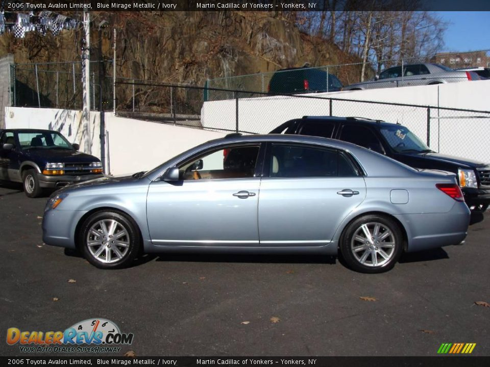 2006 toyota avalon limited blue mirage metallic ivory photo 8. Black Bedroom Furniture Sets. Home Design Ideas