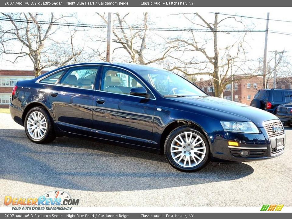 2007 audi a6 3 2 quattro sedan night blue pearl cardamom beige photo 9. Black Bedroom Furniture Sets. Home Design Ideas