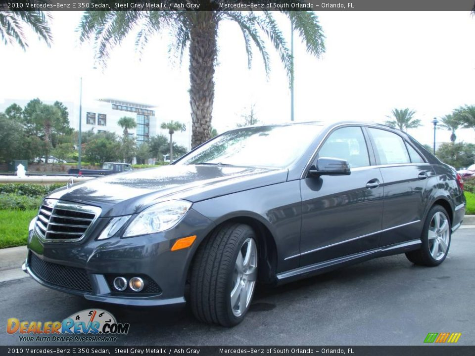 2010 mercedes benz e 350 sedan steel grey metallic ash for 2010 mercedes benz e350 sedan