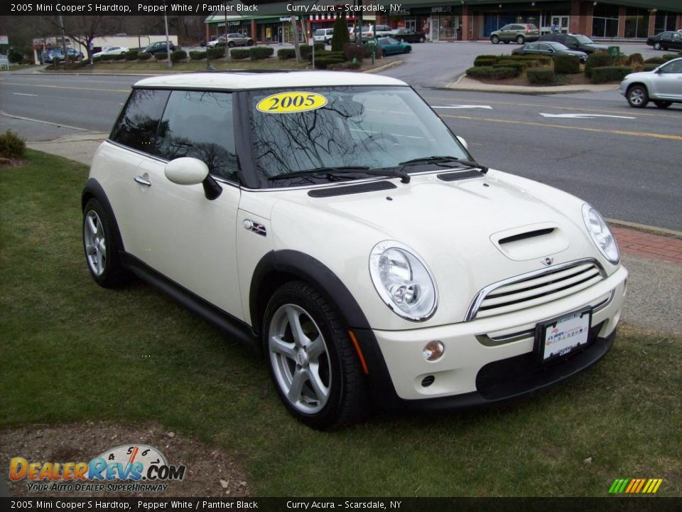 2005 mini cooper s hardtop pepper white panther black photo 4. Black Bedroom Furniture Sets. Home Design Ideas