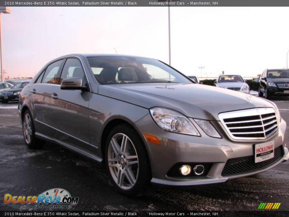 2010 mercedes benz e 350 4matic sedan palladium silver for 2010 mercedes benz e350 sedan