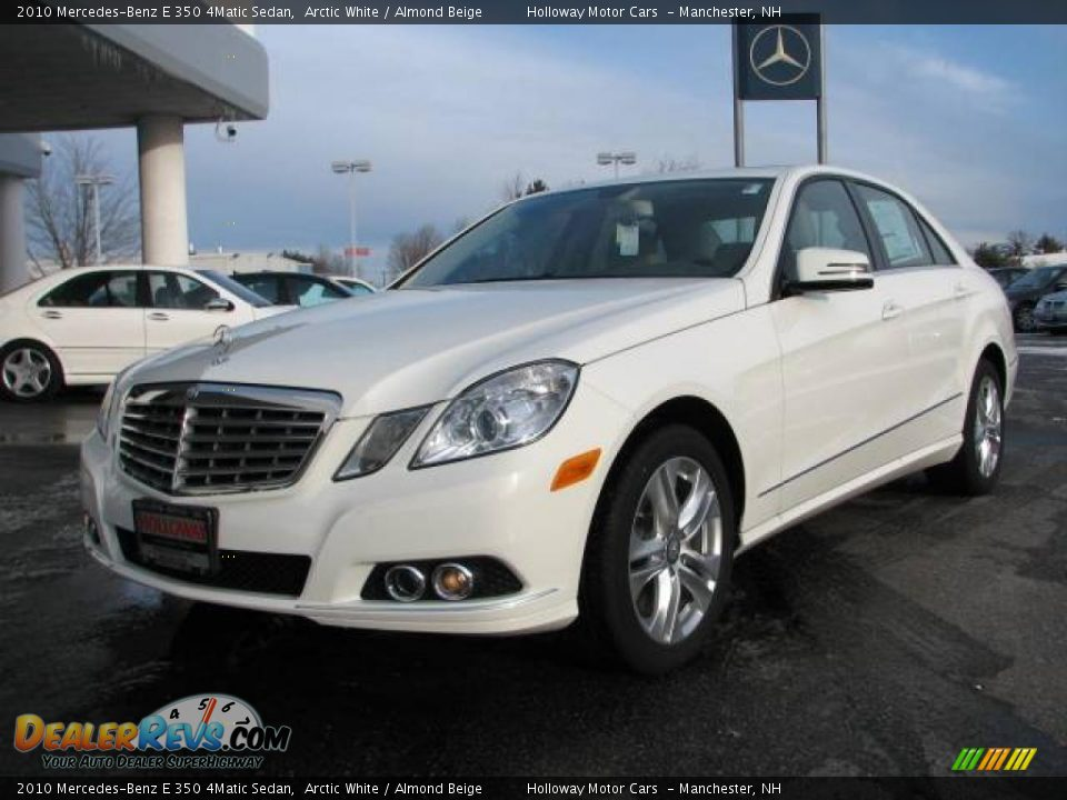 2010 mercedes benz e 350 4matic sedan arctic white for 2010 mercedes benz e350 sedan