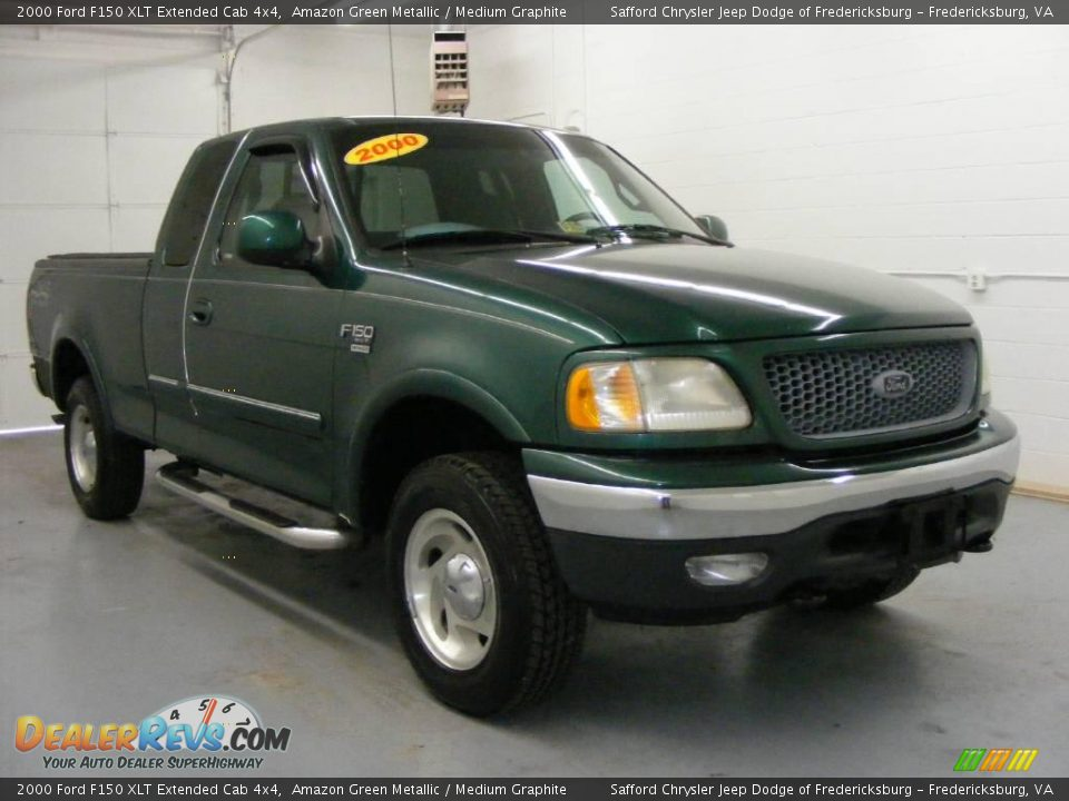 2000 Ford F150 Xlt Extended Cab 4x4 Amazon Green Metallic