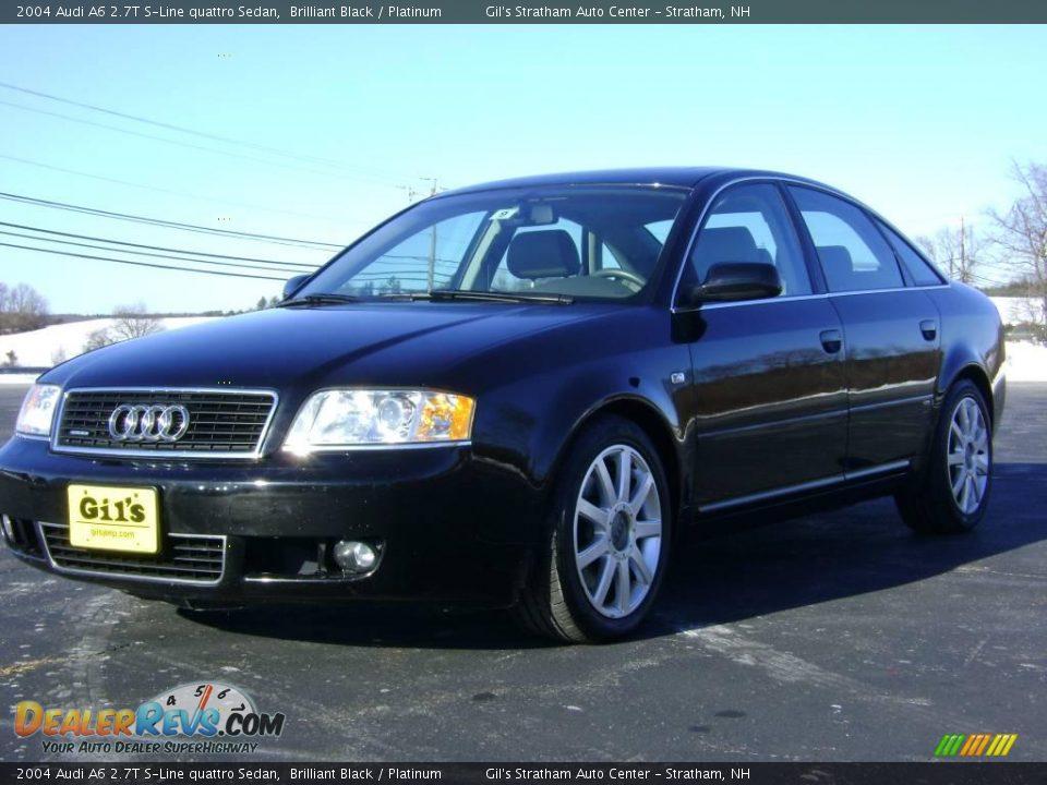 2004 Audi A6 2.7T S-Line quattro Sedan Brilliant Black ...  2004 Audi A6 2....