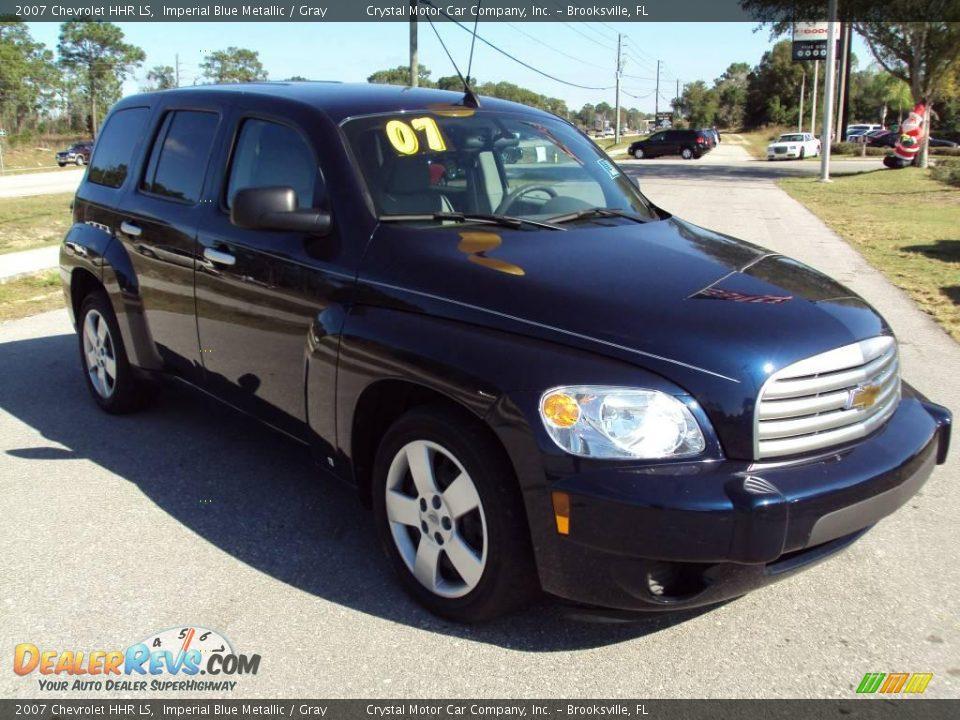 2007 Chevrolet HHR LS Imperial Blue Metallic / Gray Photo #11 ...
