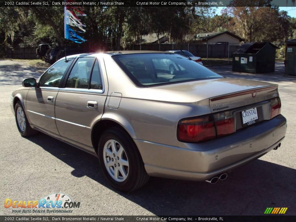 2002 cadillac seville sls dark bronzemist metallic neutral shale photo 3. Cars Review. Best American Auto & Cars Review