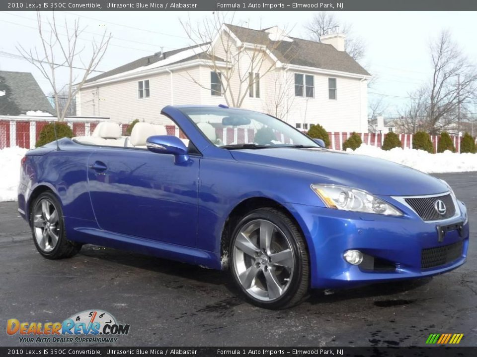 2010 lexus is 350c convertible ultrasonic blue mica alabaster photo 2. Black Bedroom Furniture Sets. Home Design Ideas