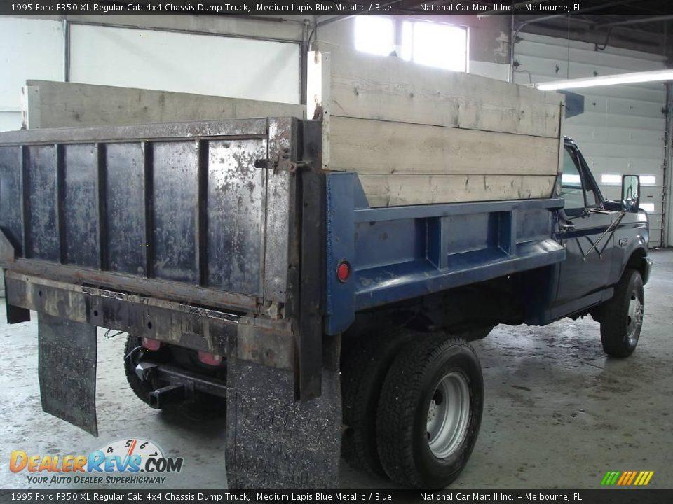 1995 Ford F350 Xl Regular Cab 4x4 Chassis Dump Truck