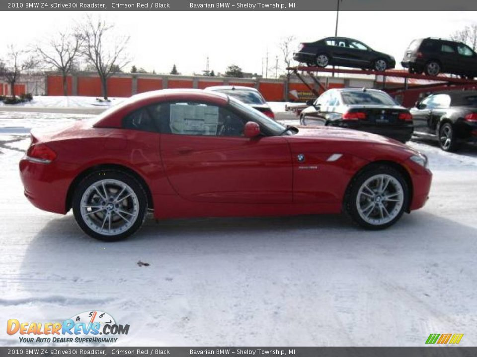 2010 Bmw Z4 Sdrive30i Roadster Crimson Red Black Photo