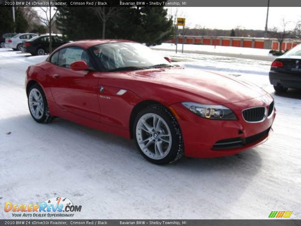 2010 Bmw Z4 Sdrive30i Roadster Crimson Red Black Photo 7 Dealerrevs Com