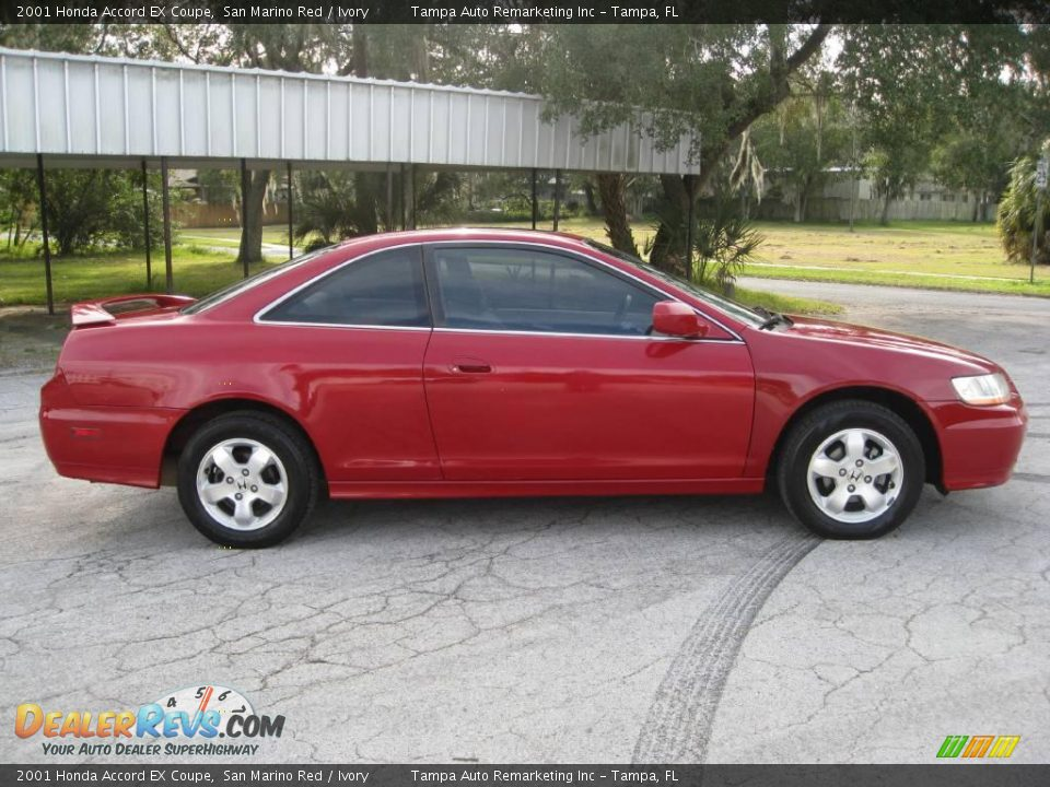 Car Picker  red honda Accord Coupe