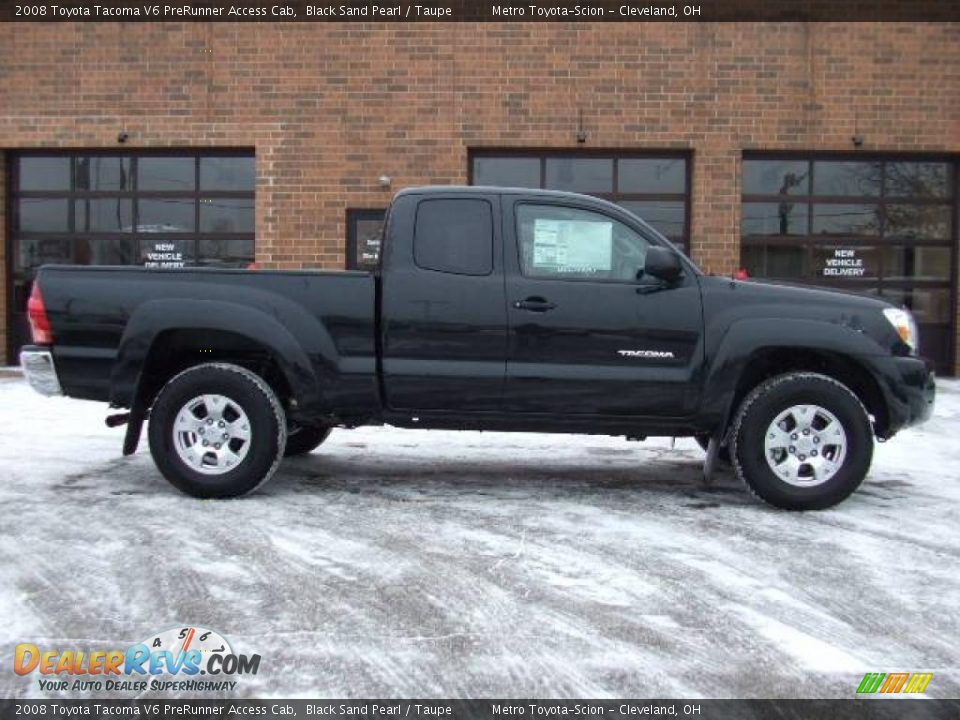 2008 toyota tacoma v6 prerunner access cab black sand pearl taupe photo 2. Black Bedroom Furniture Sets. Home Design Ideas
