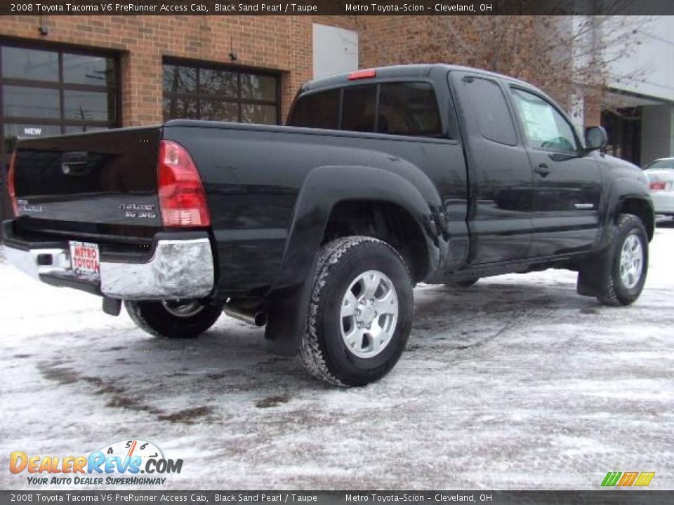 2008 toyota tacoma v6 prerunner access cab black sand pearl taupe photo 3. Black Bedroom Furniture Sets. Home Design Ideas