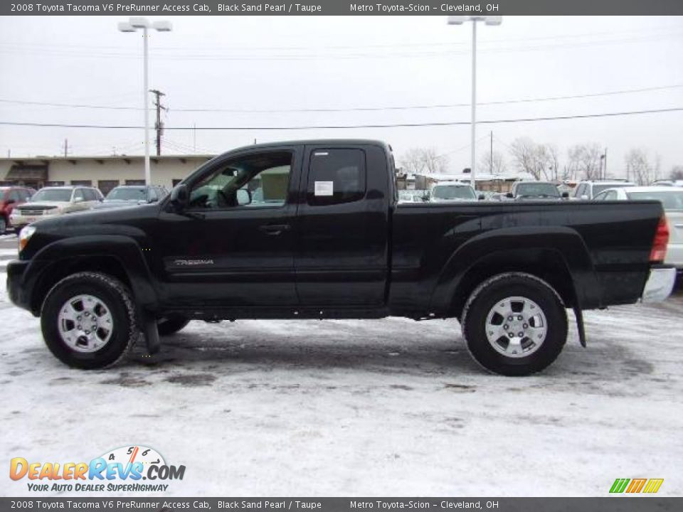2008 toyota tacoma v6 prerunner access cab black sand pearl taupe photo 6. Black Bedroom Furniture Sets. Home Design Ideas
