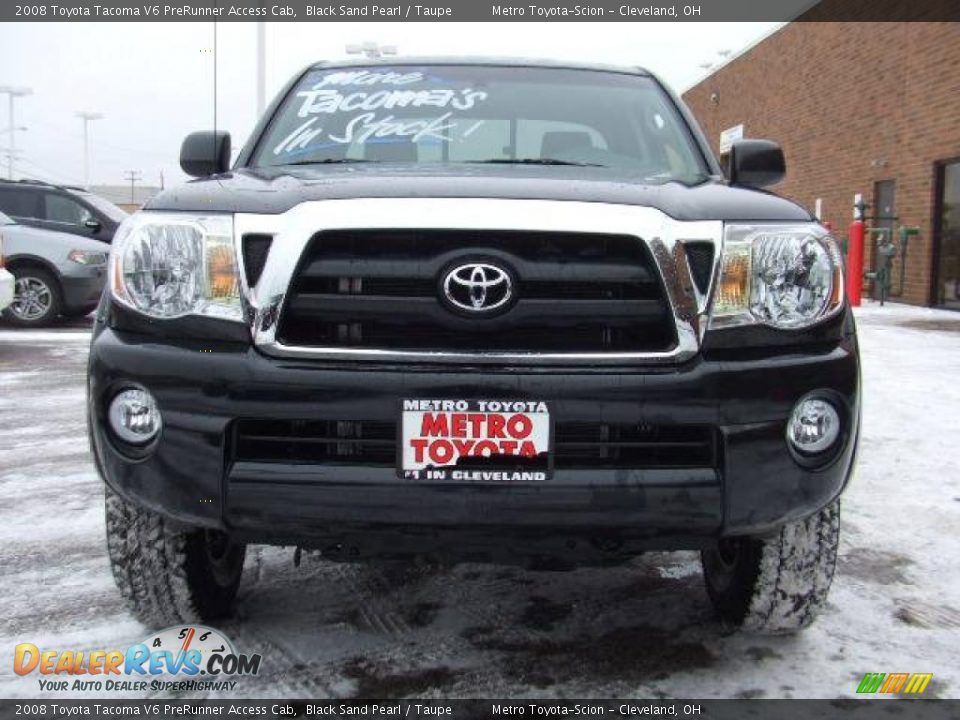2008 toyota tacoma v6 prerunner access cab black sand pearl taupe photo 8. Black Bedroom Furniture Sets. Home Design Ideas