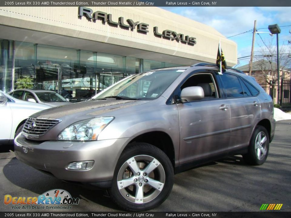 2005 lexus rx 330 awd thundercloud edition thunder cloud metallic light gray photo 1