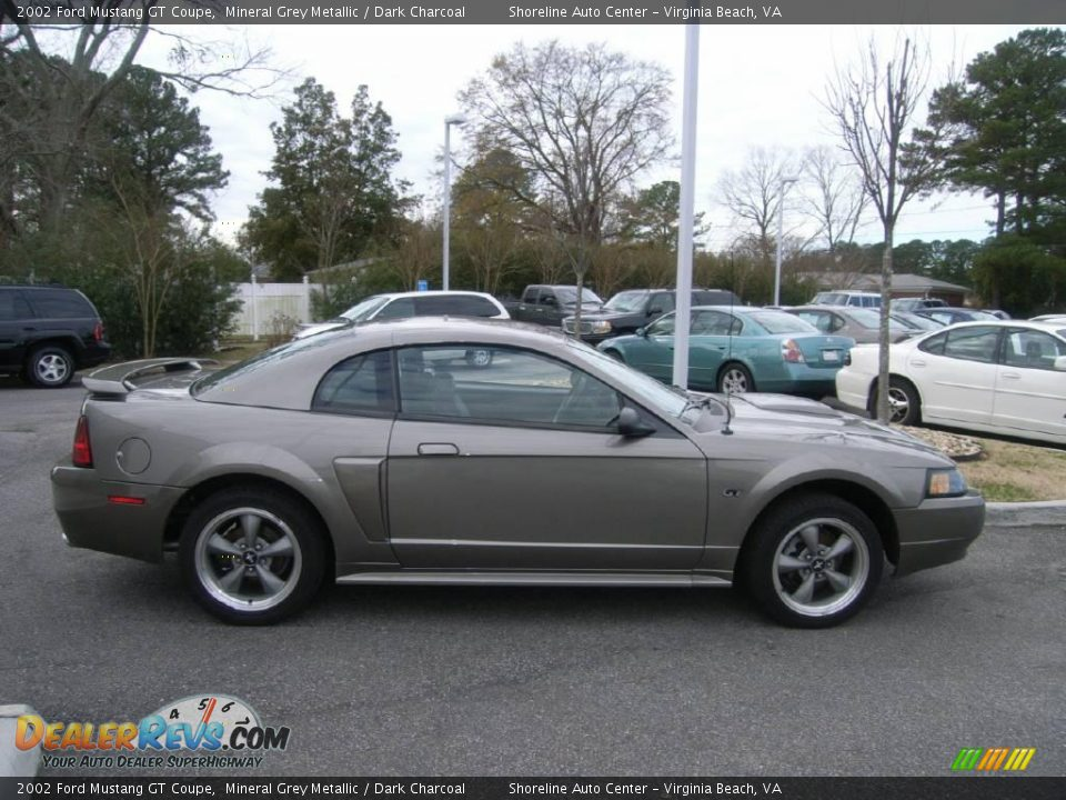 Ford Dealer Locator >> 2002 Ford Mustang GT Coupe Mineral Grey Metallic / Dark Charcoal Photo #7 | DealerRevs.com