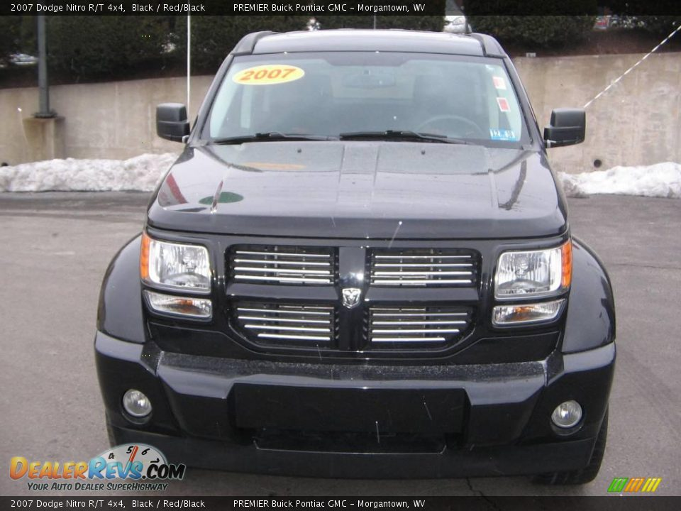 2007 dodge nitro r t 4x4 black red black photo 1. Black Bedroom Furniture Sets. Home Design Ideas