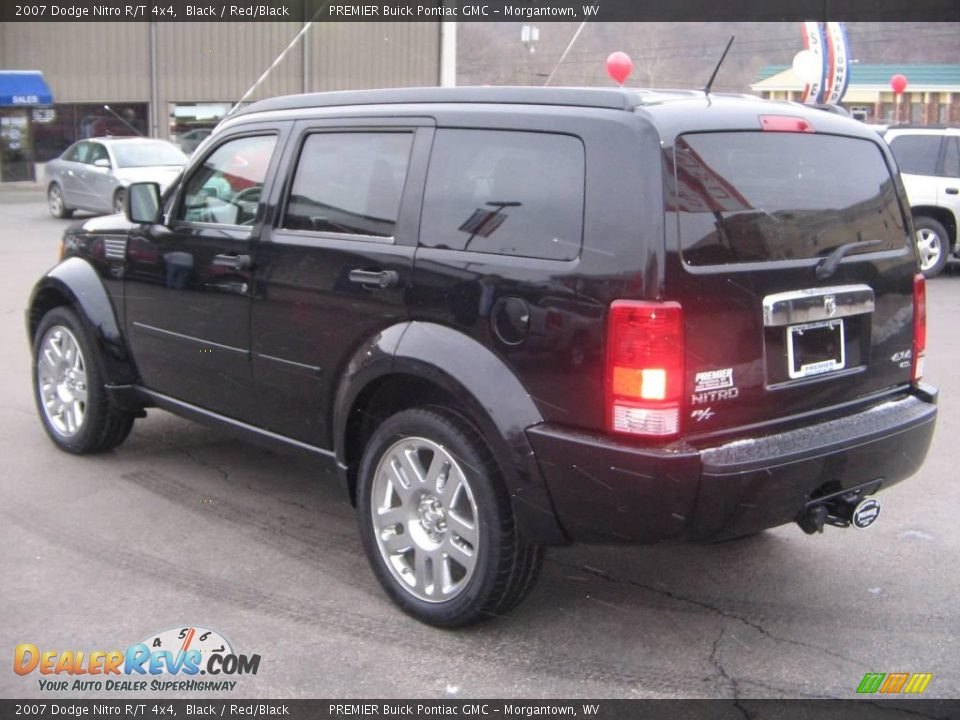 2007 dodge nitro r t 4x4 black red black photo 3. Black Bedroom Furniture Sets. Home Design Ideas